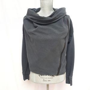 Lululemon Grey Sway Asymmetrical Jacket Moto